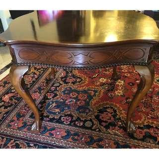 Beautiful mahogany wood, large side table