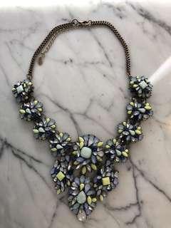 Zara Blue Green Stone Necklace