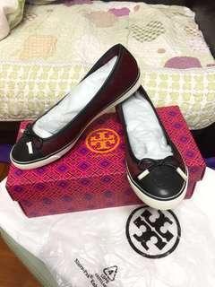 [全新] Tory Burch 馬尾毛平底鞋, 正貨, 有盒有包裝