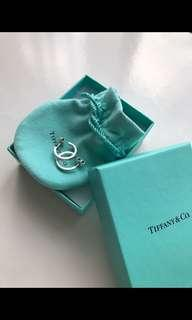 Tiffany & Co 1837 small hoop earrings