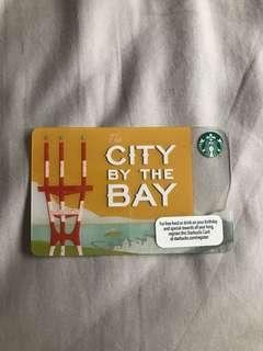 Starbucks City By The Bay Card