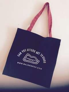 Major Drop / Pestle Mortar Tote Bag (Free Postage to WM)