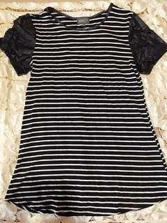 [PL] Striped T-Shirt Dress