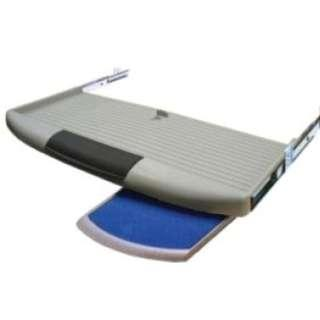 Keyboard tray with mouse