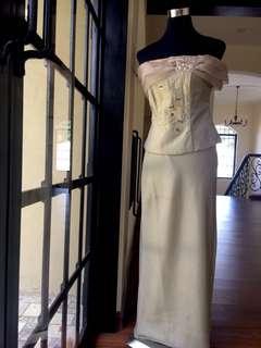 Elegant Offshoulder Gown