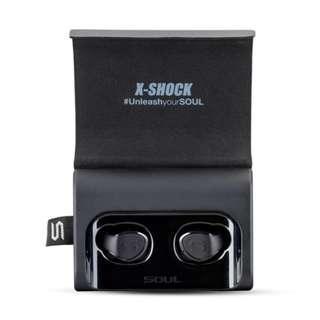 Soul X-Shock 高性能真無線藍牙耳機 (黑色) / Wireless Bluetooth Headset (Black) / 全新行貨有保養