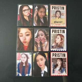 [WTS] Prisin Hi Pristin & School Out photocards