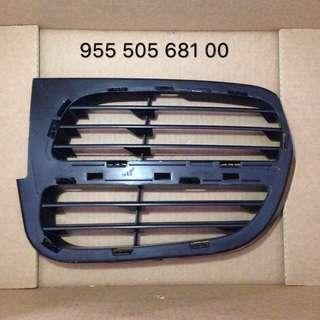 Porsche Cayenne 955 03-06 front bumper grille LH