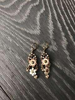 Michal Negrin Beaded Earrings