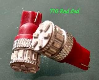 T10 W5W Bright Red Led for Tail Light