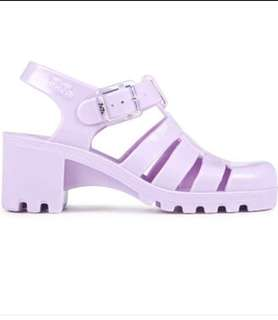 134ee3affb1b Christmas Sale! Juju England Orchid Lavender Womens Jelly Shoes Authentic  Made in England Size 5UK