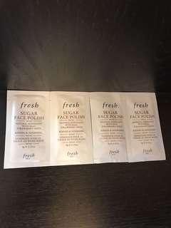fresh 黃糖滋潤亮采面膜4g x 4