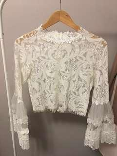 Fashion Nova Lace Top