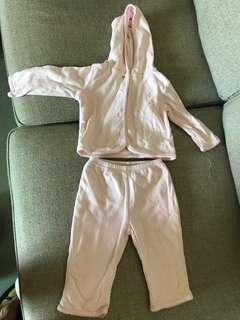 Ralph Lauren Polo baby girl set