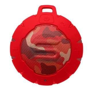 Soul Storm 防水藍牙無線揚聲器喇叭 (迷彩紅) / Portable Wireless Bluetooth Speaker (Black) / 全新行貨有保養