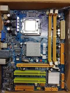 Intel E7400 + G31-M7 TE Motherboard