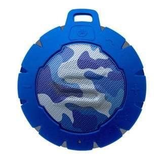Soul Storm 防水藍牙無線揚聲器喇叭 (迷彩藍) / Portable Wireless Bluetooth Speaker (Black) / 全新行貨有保養