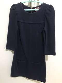 Juicy Couture Navy Blue Dress
