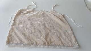 Zara Peach Hanging Cami Top