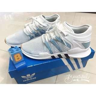 🚚 Adidas Originals EQT Support ADV 女生·淺藍X白·編織鞋 CQ2155