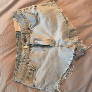 🚚 Topshop Kiri Denim Shorts