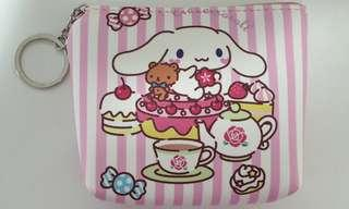 Pink Strips Cinnamoroll Series (Pink coin pouch/ small purse)