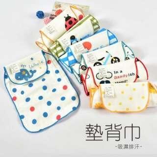 日本小童汗巾 (10條- 花紋隨機)