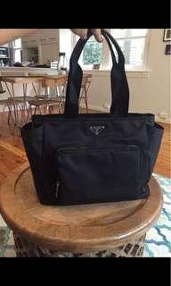 Genuine Prada Vela nappy bag...With Receipt...More pics