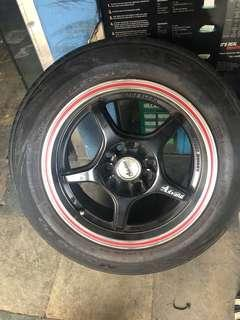 ALL 2ND HAND RIMS WITH OR WITHOUT TYRES