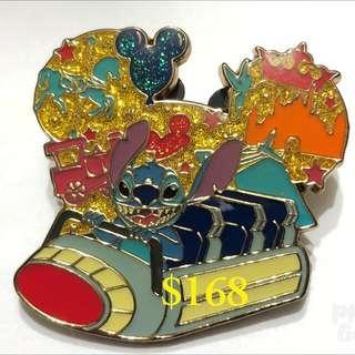 Disney Pin 迪士尼 徽章 襟章 Stitch 史迪仔