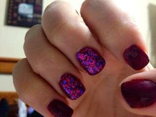 For glitter polish, kindly visit my store. Thanks!