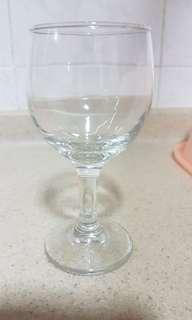 Wine glass short stand - 8 pcs, long stand -8 pcs @ $1.50 each