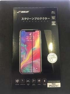 Zeelot Tampered glass for IPhone XR