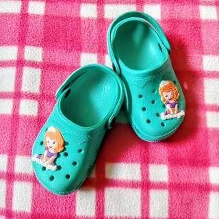 Sofia the First Crocs Slipper Sandals