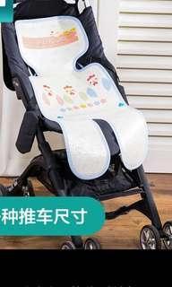 婴兒手推車凉席垫