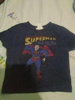 Gap Superman Tshirt 12 to 18 months...