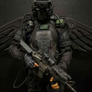 1/6 scale custom Air Force Special Operations unit (future soldier) The Last Fighter Pilot.Hot Toys, Damtoys, Soldier Story