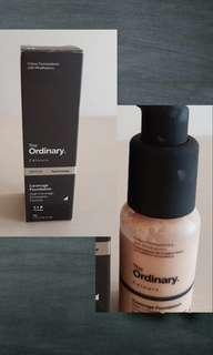 The ordinary full coverage 1.1 P