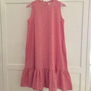 This is April Ruffle Dress