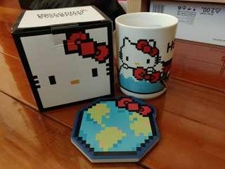 Hello Kitty nanoblock 陶瓷杯