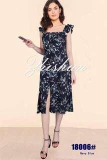Preloved button down maxi dress