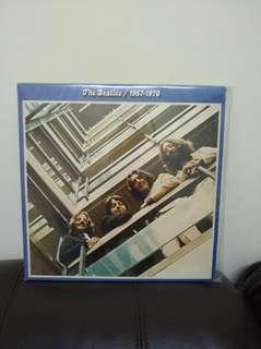 Beatles 67至70年 精選 lp黑膠唱片兩碟 英國版