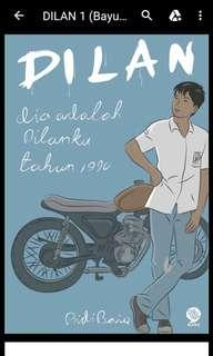Novel ebook Dilan Milea