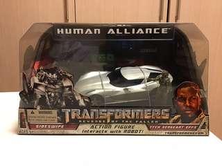 Transformers Human Alliance Sideswipe Epps autobots MISB