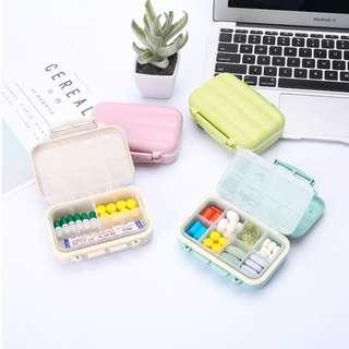 Portable Travel Pill Box Supplement Vitamin Case Organizer Box B15103