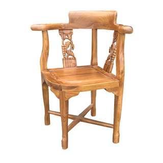 【Dc柚木小屋】104葡萄椅/讀書椅/餐椅/休閒椅/造型椅/戶外椅/老人椅/客桌椅/實木椅/好坐的椅子/舒服椅
