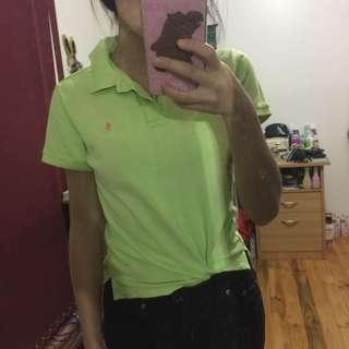 Vintage Ralph Lauren Polo Lime Green