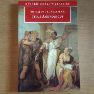 Oxford World's Classics - Titus Andronicus