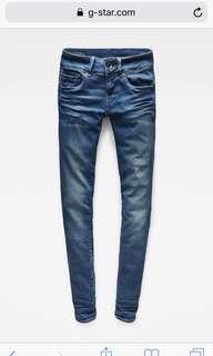 G star Women's Jeans midge Cody skinny 24/32 rrp $220 🌿🌸