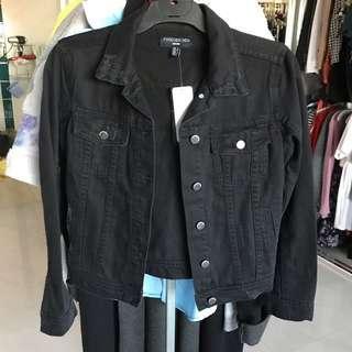 Forever New Black Denim Jacket